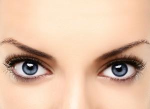 bumps eyes Milia London