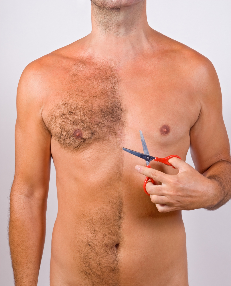 unwanted body hair