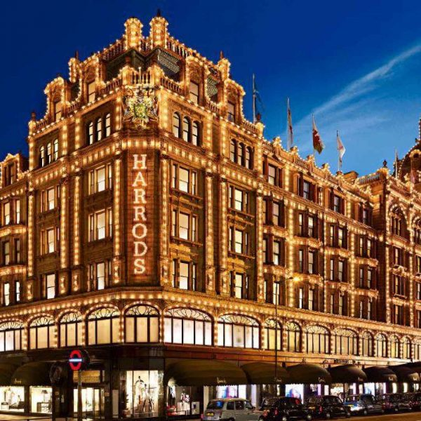 Launched 111SKIN in Harrods